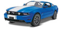 Revell-Monogram '10 FORD MUSTANG GT COUPE 1:25, LIST PRICE $27.25