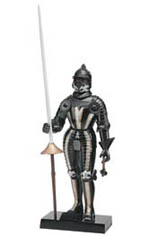 Revell-Monogram BLACK KNIGHT of NURMBERG 1:8, LIST PRICE $14.95