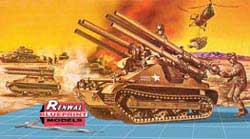 Revell Monogram M-50 ONTOS 105MM Recoiless Rifle 1:32, LIST PRICE $23.95
