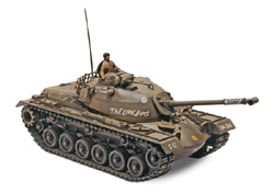 Revell Monogram M48 A2 PATTON TANK 1:35       , LIST PRICE $23.25