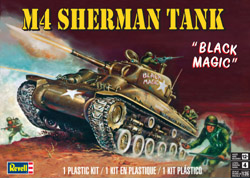Revell Monogram M-4 Sherman Tank 1:35, LIST PRICE $22.95