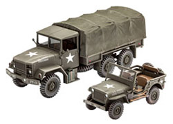 Revell Monogram 1/35 M34 Tactical Truck Off Road   , DUE 1/15/2018, LIST PRICE $17.95