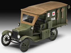 Revell Monogram 1:35 1917 MODEL T AMBULANCE , LIST PRICE $23.56