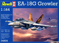 Revell Monogram 1:144 EA-18G GROWLER, LIST PRICE $10.95