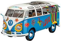 Revell-Monogram 1/24 VW T1 Samba Bus Flower Power   , DUE 1/15/2018, LIST PRICE $41.95