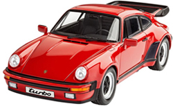 Revell-Monogram 1/25 Porsche 911 Turbo   , DUE 1/15/2018, LIST PRICE $29.95