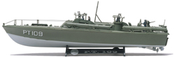 Revell Monogram PT109 PT Boat 1/72, LIST PRICE $19.95