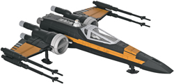 Revell Monogram Poe's Boosted X-wing Fighter Skill 2, LIST PRICE $22.99