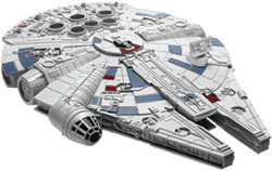 Revell Monogram 1/164 Lando's Millenium Falcon Star Wars Snap, DUE 10/19/2018, LIST PRICE $22.99