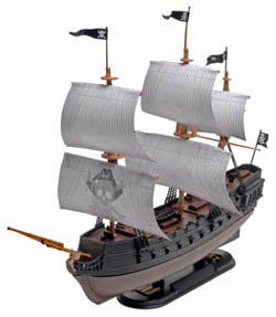 Revell Monogram Black Diamond Pirate Ship sk1, LIST PRICE $16.95