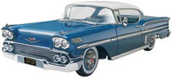 Revell-Monogram 1:25 '58 Chevy Impala, LIST PRICE $25.95