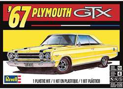 Revell Monogram 1:25 1967 Plymouth GTX, DUE 9/30/2018, LIST PRICE $24.95