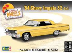 Revell Monogram 1:25 1964 Chevy Impala SS 2 �n 1 , DUE 11/30/2018, LIST PRICE $24.95