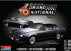 Revell Monogram 1:24 BUICK GRAND NATIONAL 2IN1 , DUE 11/30/2019, LIST PRICE $26.95