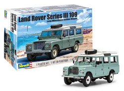 Revell Monogram 1:24 LAND ROVER SERIES III , DUE 1/30/2020, LIST PRICE $34.99