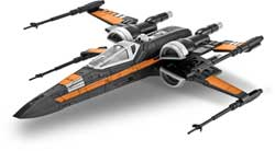 Revell - Germany Poe's X-wing Fighter SW3, LIST PRICE $28.95