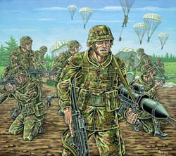 Revell - Germany GERMAN PARATROOPERS 1:72 , LIST PRICE $6.5