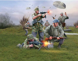 Revell - Germany German Paratroopers Wwii 1:72, LIST PRICE $7.95