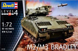 Revell - Germany M2/M3 BRADLEY 1:72 ## , LIST PRICE $13.25