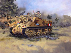 Revell - Germany M-7 HMC PRIEST 1:76 , LIST PRICE $10.5