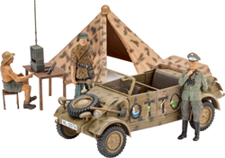 Revell - Germany German Staff Car Type 82 1:35, LIST PRICE $17.95