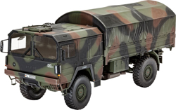 Revell - Germany Lkw 5t.Mil Gl 4x4 Truck 1:35, LIST PRICE $23.95