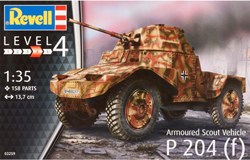 Revell - Germany Armoured Scout Vehicle P204 1:35, LIST PRICE $32.95