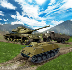 Revell - Germany Bundeswehr Vechiles 1:144, LIST PRICE $9.95