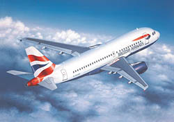 Revell - Germany AIRBUS A-319 1:144 , LIST PRICE $20.25