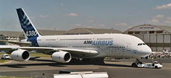 Revell - Germany AIRBUS A380 FIRST FLIGHT 1:144, LIST PRICE $51.95