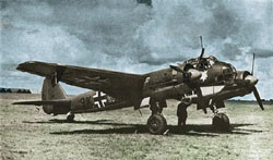 Revell - Germany Junkers Ju88 A-4 Bomber 1:72, LIST PRICE $25.95
