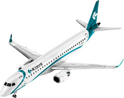 Revell - Germany Embraer Erj-195 1:144, LIST PRICE $12.95