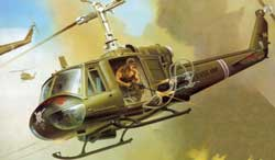 Revell - Germany BELL UH-1B 1:24, LIST PRICE $57.95