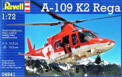 Revell - Germany Agusta A-109 K2 1:72, LIST PRICE $17.95