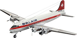 Revell - Germany Dc-4 Balair 1:72, LIST PRICE $62.95