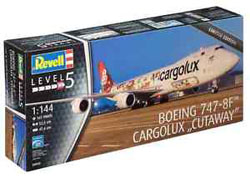 Revell - Germany Boeing 747-8F Cutaway Ltd :144, LIST PRICE $62.95