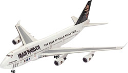 Revell - Germany 747-400 Iron Maiden Ltd 1:144, LIST PRICE $39.95