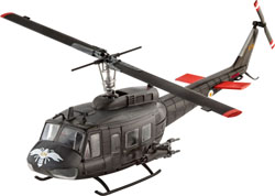 Revell - Germany Bell Uh-1H Gunship 1:100, LIST PRICE $14.95