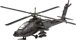 Revell - Germany Ah-64A Apache 1:100, LIST PRICE $12.95