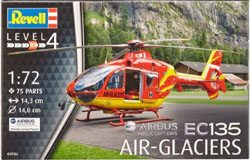 Revell - Germany Ec135 Air-Glaciers 1:72, LIST PRICE $14.95