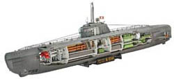 Revell - Germany U-BOAT XXI TYPE W/INT 1:144 , LIST PRICE $35