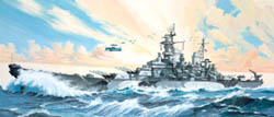 Revell - Germany 1:535 USS Missouri, LIST PRICE $22.75