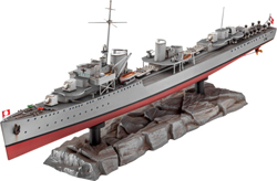 Revell - Germany German Destroyer Type 1936:350, LIST PRICE $52.95