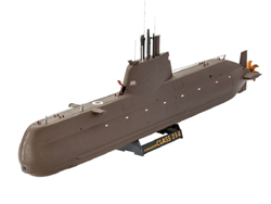 Revell - Germany Submarine Class 214 1:144, LIST PRICE $12.95