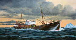 Revell - Germany NORTH SEA FISHING TRAWLER :142, LIST PRICE $14