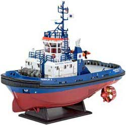 Revell - Germany HARBOUR TUG FAIRPLAY I 1:144, LIST PRICE $21.95