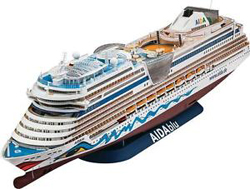 Revell - Germany Aida Cruiser Ship 1:400, LIST PRICE $139.95
