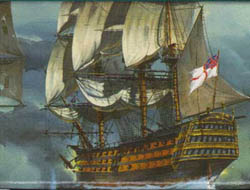 Revell - Germany HMS VICTORY 1:146 , LIST PRICE $33.5