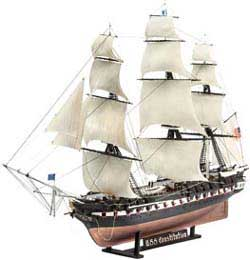 Revell - Germany USS CONSTITUTION 1:146, LIST PRICE $56.95