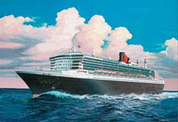 Revell - Germany QUEEN MARY 2 1:1200           , LIST PRICE $19.5